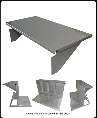 Barrier Counter Top : Model FL10